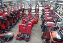 Machinery Auction in UK