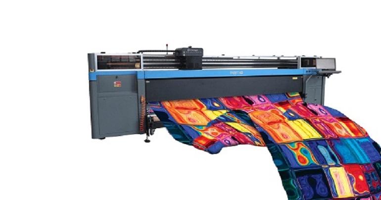 Digital fabric printer