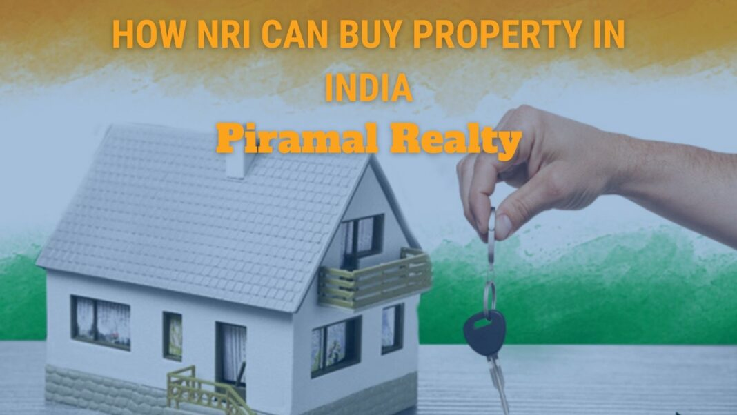 how nri can buy property in india