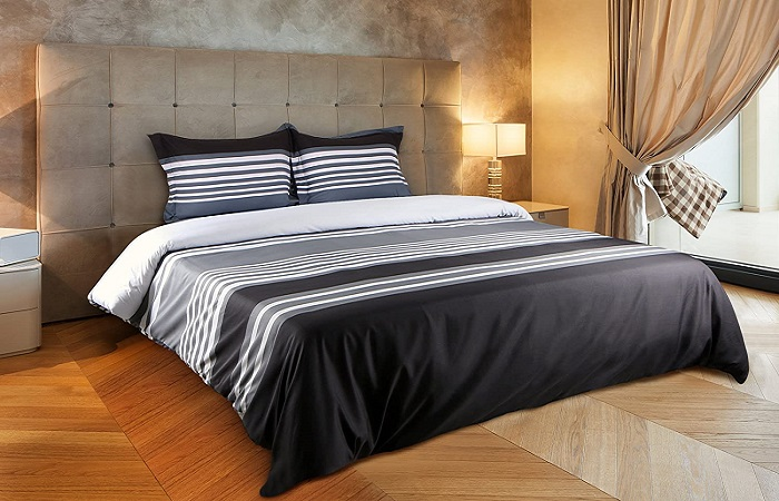 African Print Bedding Holding Tradition