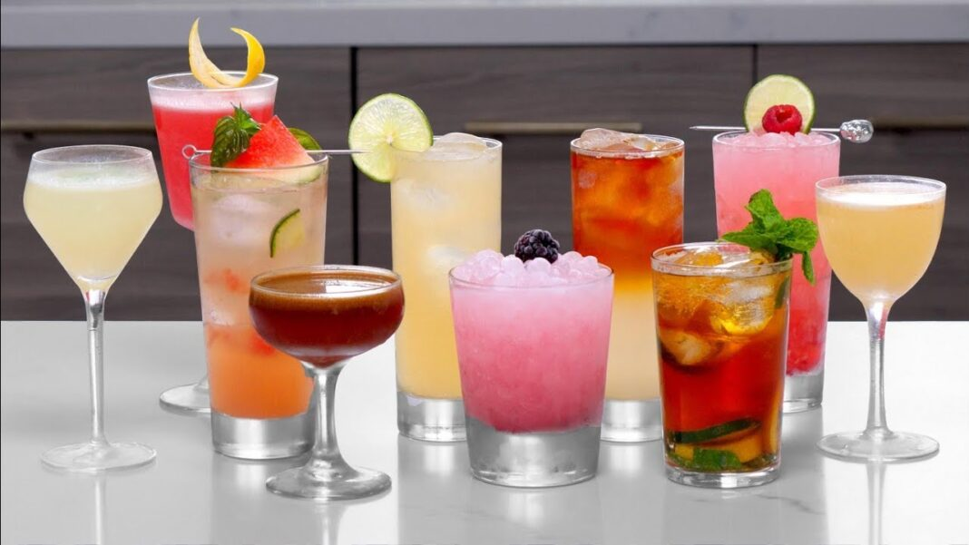 Top 10 types of cocktails in providence