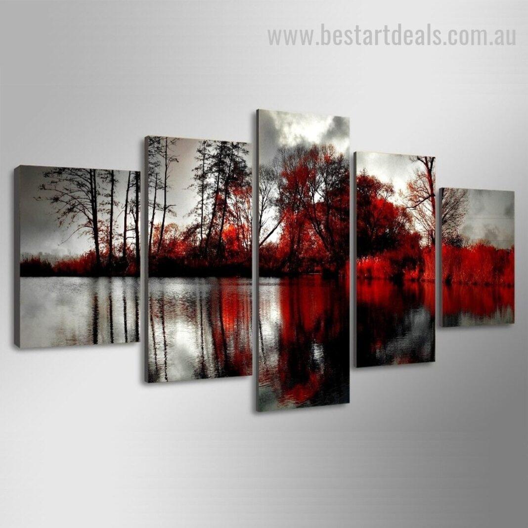 5 piece canvas