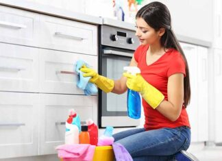 How to clean CCC cabinets (From general to specific)