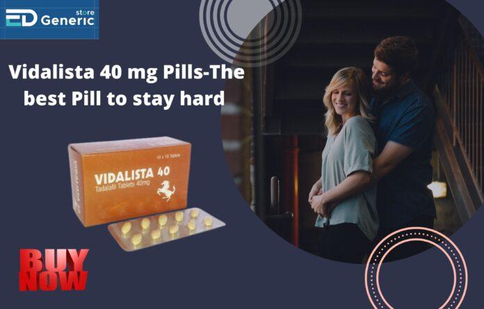 Buy Vidalista 40 mg Pills Online | Ed Generic Store