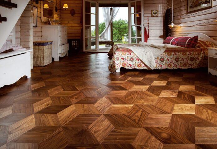 Parquet Flooring Texture Dubai