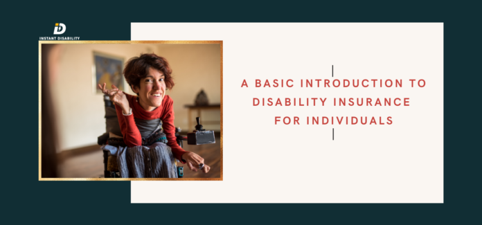 Disability insurance for individuals