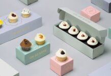 cup cakes boxes
