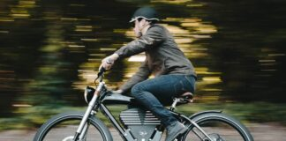 The e-bike is good for you, more than the normal bike