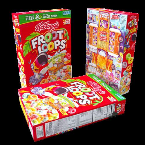 cereal box packs